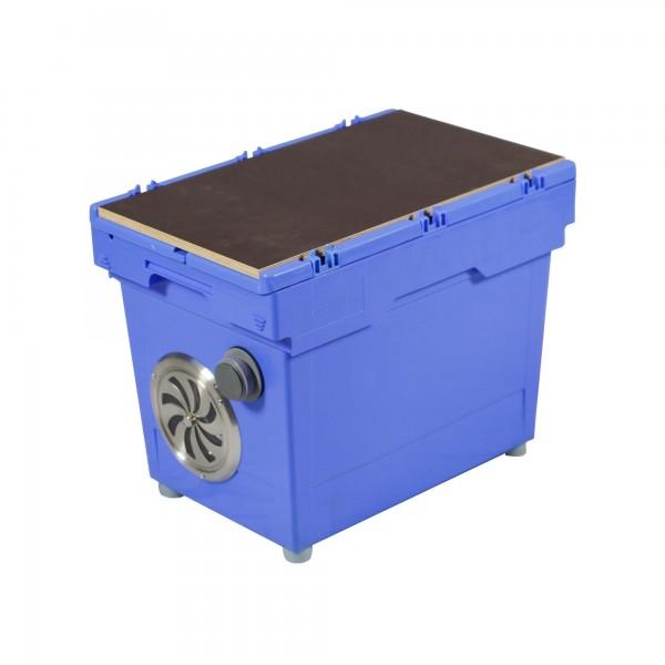 Saugolator WC Sauger mit Verschlussgitter und Adapter