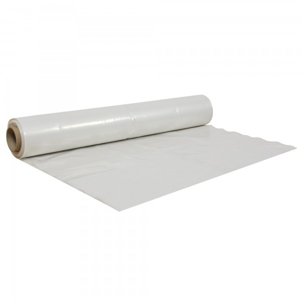 PE-Folie für Staubschutzwände Staubschutz-Trennwände 150 my Rolle 4 x 25 m