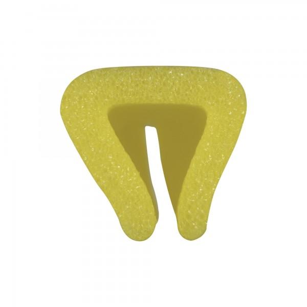 Kantenschutzprofil Schutzprofil Omega-Profil PE-Schaum 30 mm x 1 m