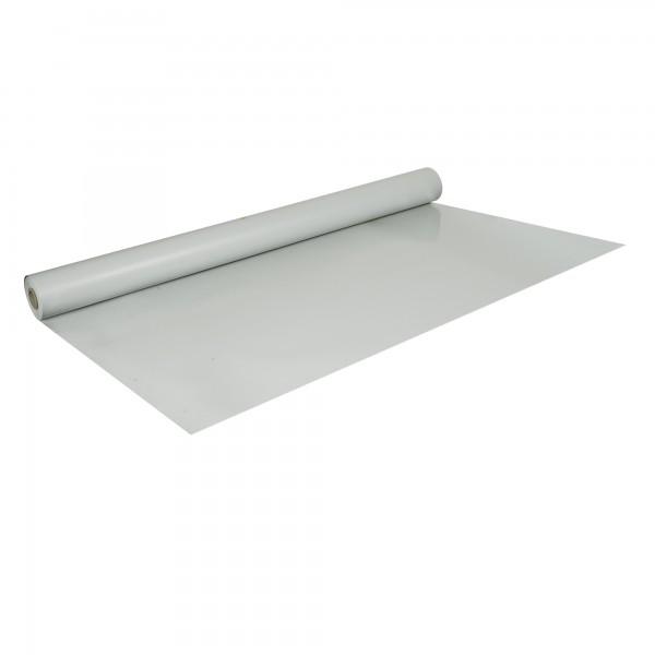 PVC-Folie B1 schwerentflammbar hellgrau 1,0 m x 12,5 m