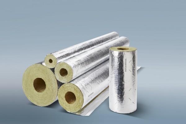 Rohrschale Rohrisolierung ROCKWOOL® 800 Steinwolle