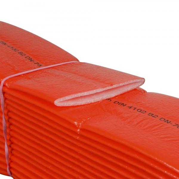 PE Schutzschlauch Isolierung 4 mm rot für Abwasser