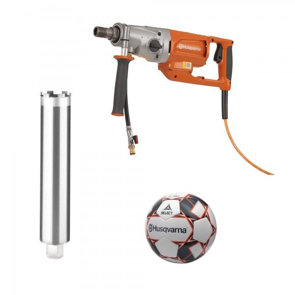 Husqvarna® DM 200 Elektrokernbohrer inkl. TACTI-Drill Bohrkrone 52 mm