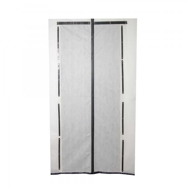 Vlies Staubschutztür Magnet mit Magnetstreifen-Verschluss 210 x 110 cm