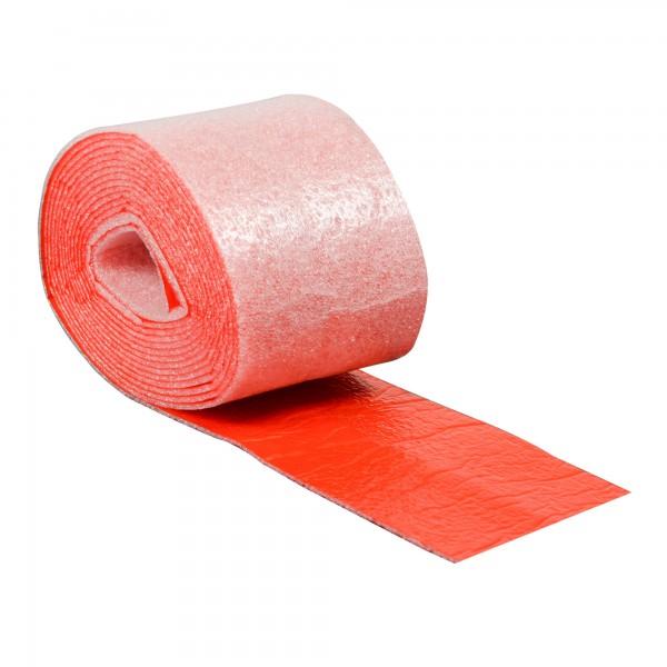 PE Wickelband mit Dampfsperre 70 mm rot nichtselbstklebend