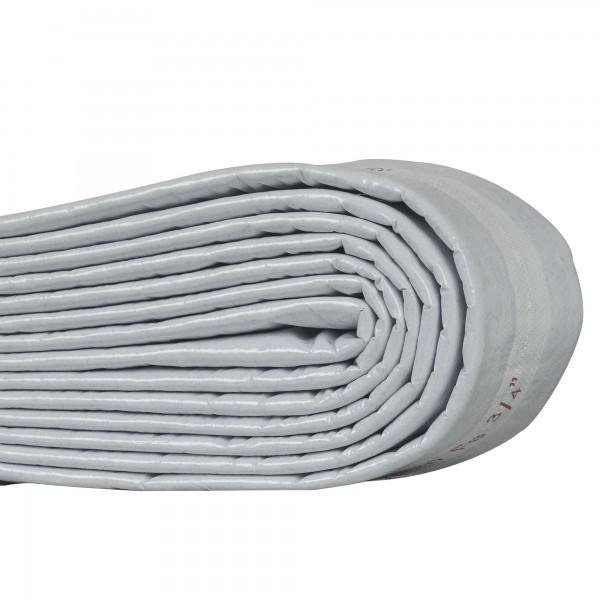 Vlies Schutzschlauch Isolierung 4 mm hellgrau für Abwasser