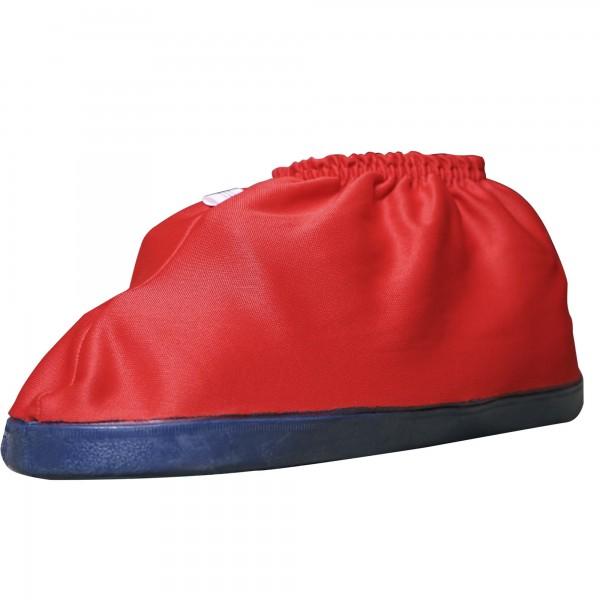 Sauber Überziehschuhe Schutzschuh Überschuh rot